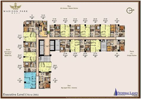 Madison Residences Floor Plan by Grand Central Park Madison Park West Updated Today