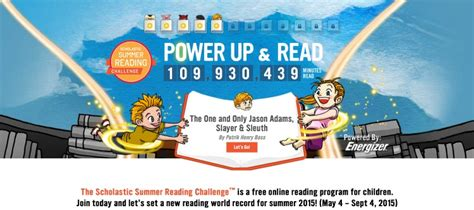scholastic reading challenge scholastic summer reading challenge gets excited