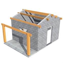 projet de construction abri de jardin auvent 20m2