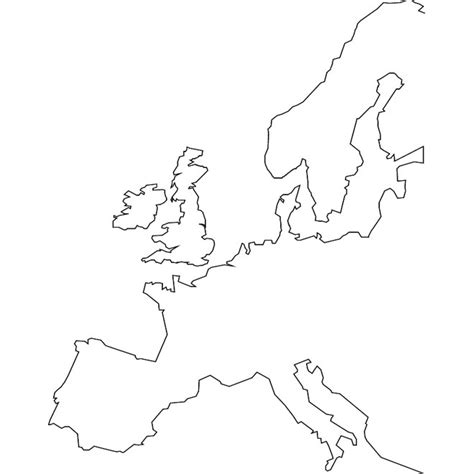 Europe Continent Outline by Europe Continent Outline Map Pictures To Pin On Pinsdaddy