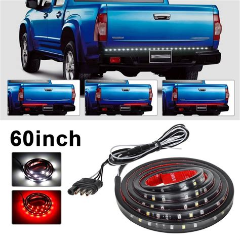 led light bar for truck tailgate 60 quot white tailgate led light bar truck