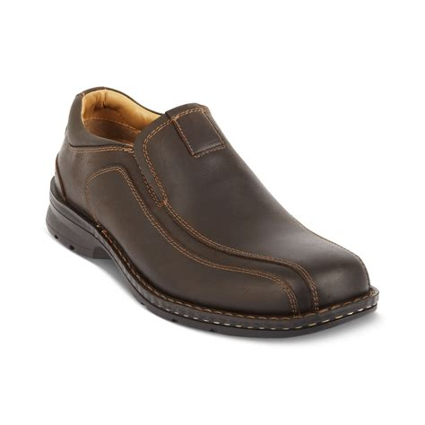 dockers s loafers dockers bike toe loafers in brown for
