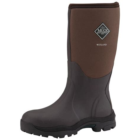 waterproof womans boots s muck boots 14 quot wetland premium waterproof