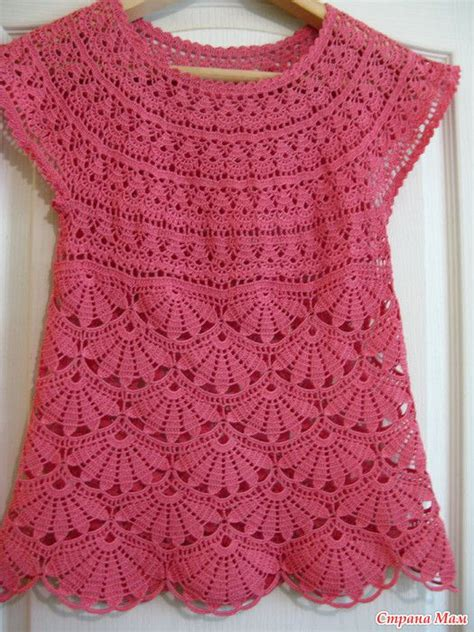 pink pattern tunic crochet tunic in pink pattern crochet kingdom