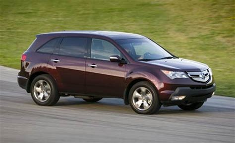 2007 acura mdx car and driver