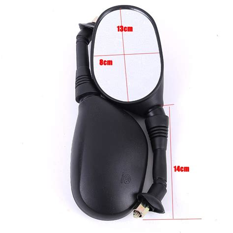 Spion Motor Honda Black kaca spion motor 8mm model ergonomis black jakartanotebook