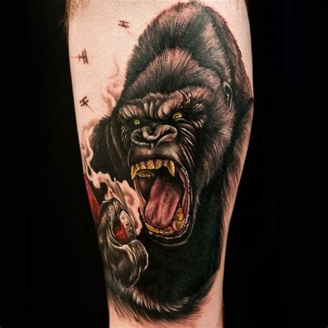 king kong tattoo king kong i want it tattoos