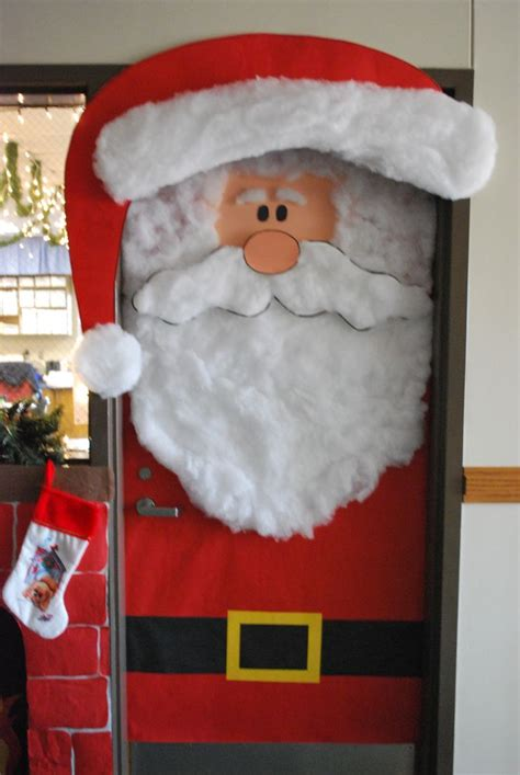 santas house of games xmas door decoration 70 best bulletin boards classroom decor images on crafts
