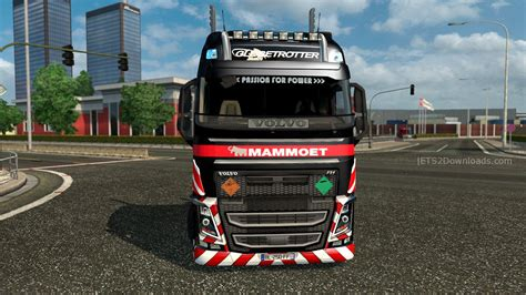 all truck mammoet skin pack for all trucks ets 2 mods ets2downloads