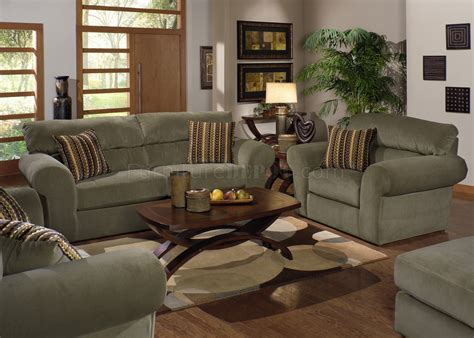 sage color sofa sage fabric transitional sofa loveseat set w options