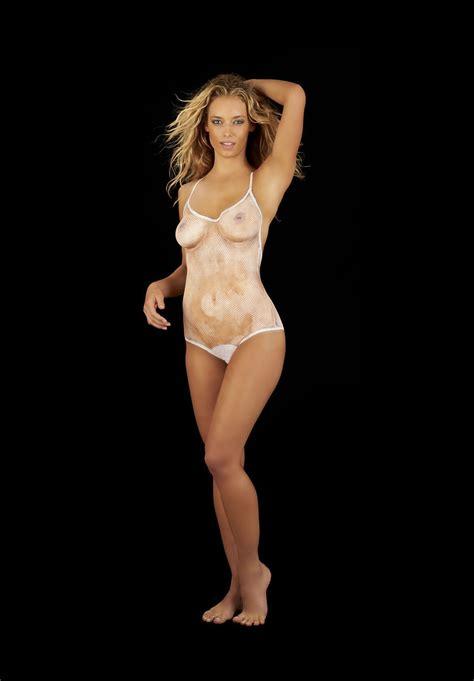 Hannah Ferguson Was Kinda Naked Gceleb