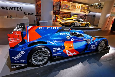 le mans 24 hours the n 176 36 alpine breaks cover