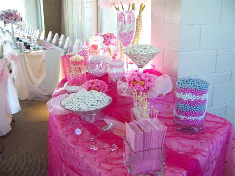 baby girl shower candy buffet sweet city candy blog