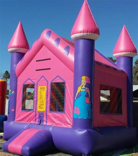 princess bounce house bounce house bouncer phoenix party rentals services phoenix