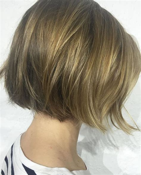 easy breezy chin length bobs with gentle texture means you