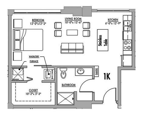 studio loft apartment floor plans floor plan 1k junior house lofts