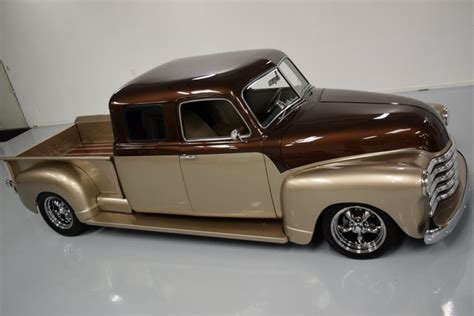 a restomod for the whole family 1950 chevrolet stretch cab