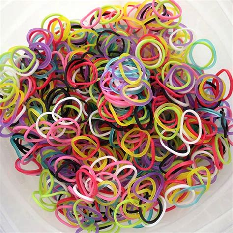 colored rubber bands rainbow loom creative for of all ages