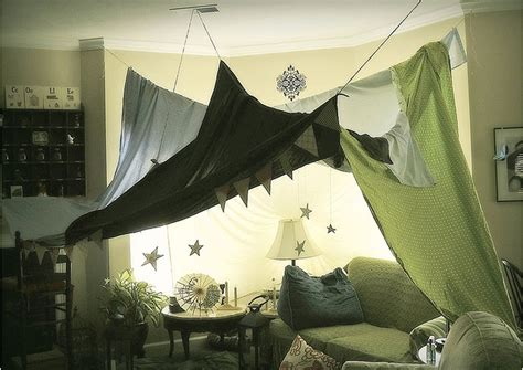 Living Room Fort Kit String And Sheets Living Room Fort