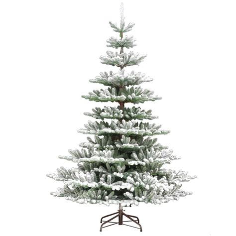 7 5ft snowy imperial feel real spruce artificial christmas