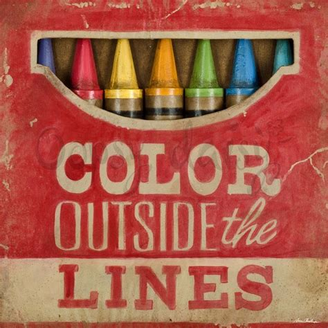 color outside the lines words i like