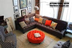 Modern Lounge Chair With Ottoman Design Ideas Ottoman And Banquette Where To Put And How To Use