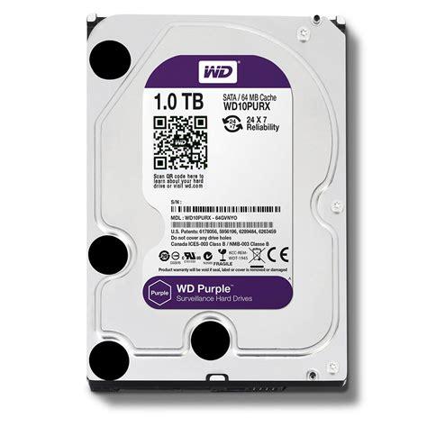 Wd Purple 3 5 Cctv 1tb wd purple wd10purx 1tb surveillance 3 5 quot sata