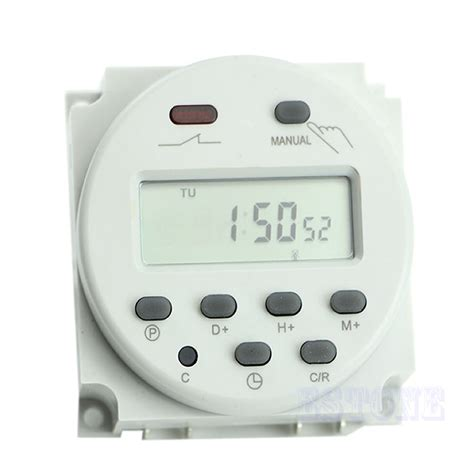 Timer Digital Original 220v Ac16 ac 110v 220v 16a time digital lcd power programmable timer switch relay ebay
