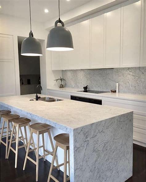 Good Island In The Kitchen #6: Carrara-marble-benchtop.jpg