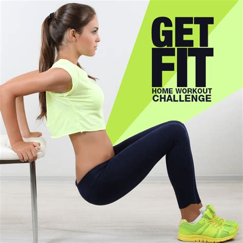 get fit home workout challenge