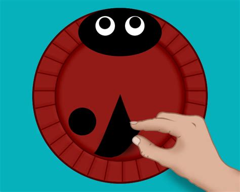Things To Make Out Of Paper Plates - how to make ladybird paper plate masks families