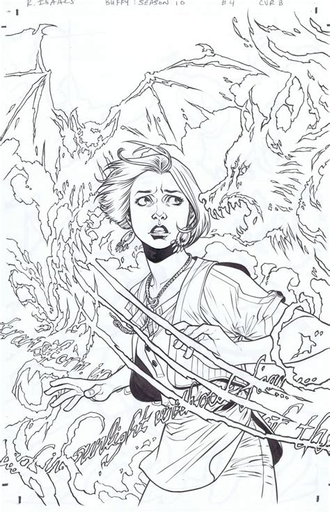 Buffy The Vire Slayer 5 buffy the vipier slaer free coloring pages