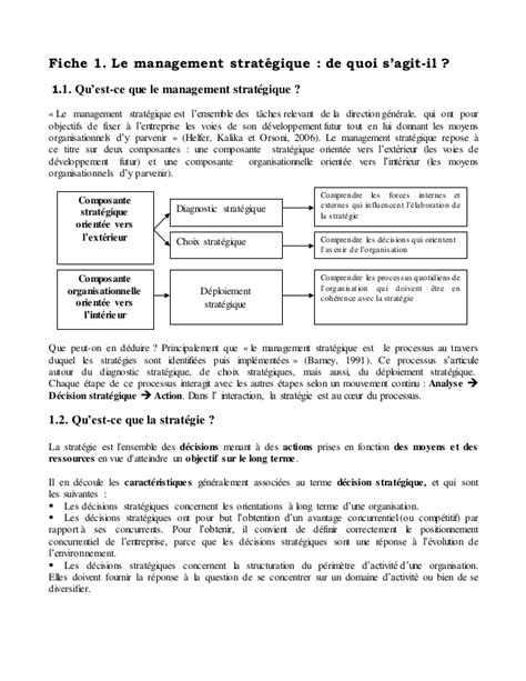 A. BERRICHI ( Management stratégique - FSJESO)