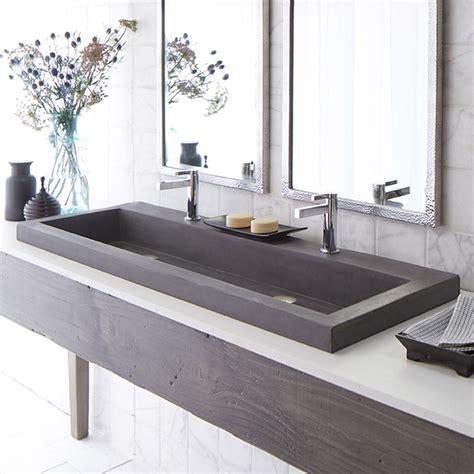 48 inch stainless steel sink trails 48 inch nativestone trough bath sink