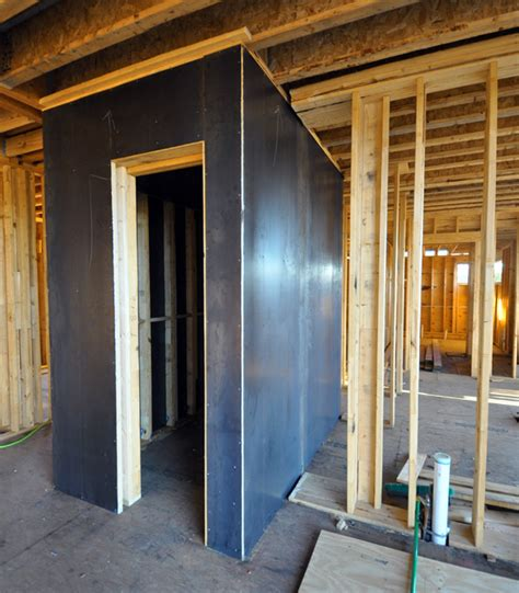 building a safe room seen a bit of discussion on these lately tornado room with steel plate walls via