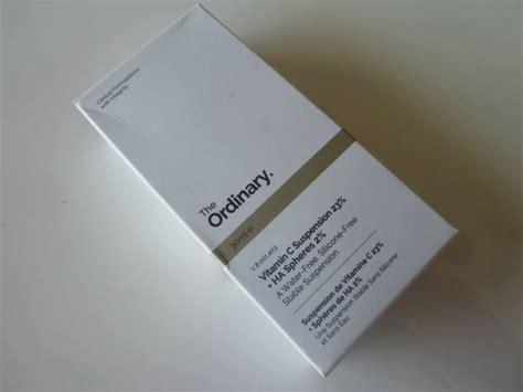 The Ordinary Vitamin C Suspension 23 Ha Spheres 2 30ml Sp the ordinary vitamin c suspension 23 ha spheres 2 review