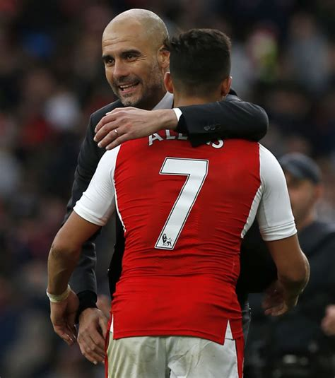 alexis sanchez guardiola arsenal news lemar or bailey wanted before selling