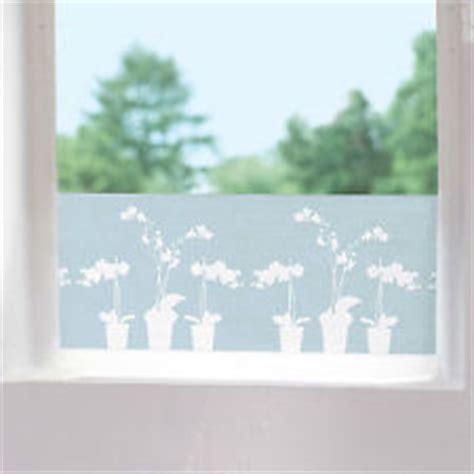 Fenster Sichtschutzfolie Klebefolie Orchidee by Fensterfolien G 252 Nstig Kaufen Bei Ebay