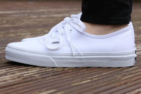 Vans Authentic Icc White white vans sk8 hi s are the goat casual summer shoe