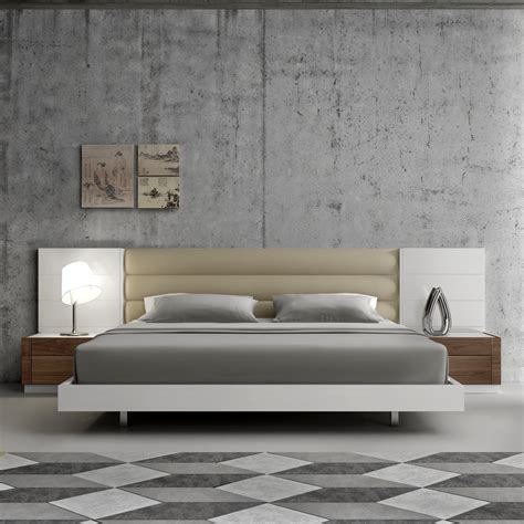 modern bedroom set furniture lisbon modern bedroom set