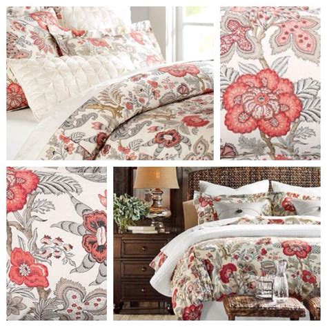 pottery barn coverlet pottery barn bedding allegra palore for the home
