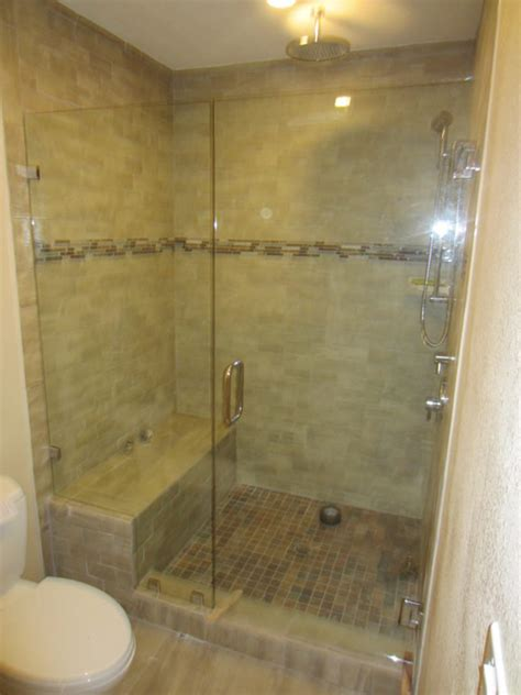 Shower Doors Pictures Glass Shower Enclosure South Park San Diego Patriot Glass And Mirror San Diego Ca