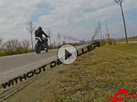 Motorrad Ohne Anmeldung Zum T V by Flyby Street Triple Sc Project Conic Mit Ohne Db