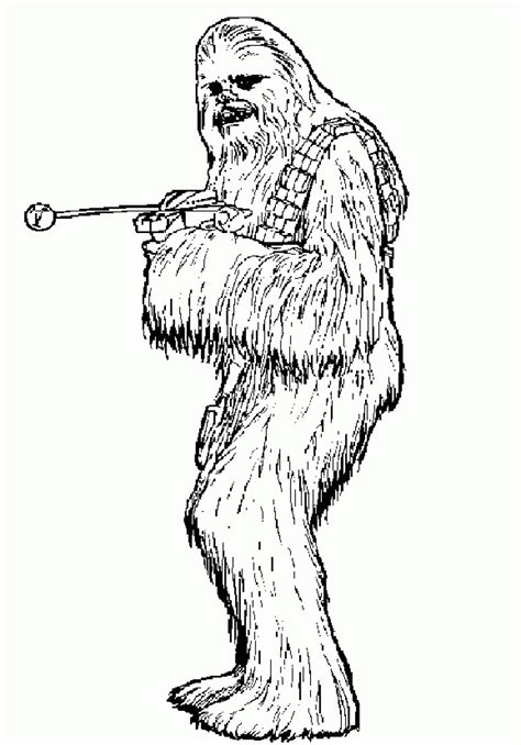 chewbacca coloring pages chewbacca coloring page coloring home