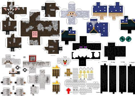 Mincraft Paper Craft - papercraft templates minecraft animals www pixshark