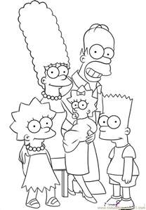 the simpsons coloring pages simpsons coloring pages to print coloring home