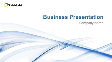 business powerpoint template light business powerpoint template slidemodel