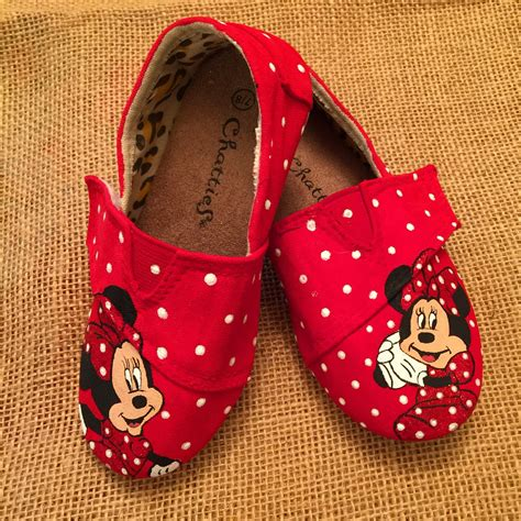 minnie mouse shoes for toddler minnie mouse toddler shoes by bibbidibobbidishoes on etsy