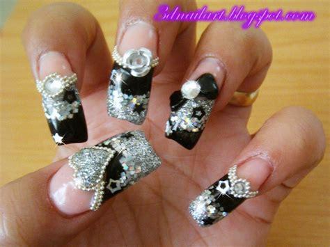 3d nail designs 3d nail my bday bling