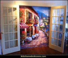 Eiffel Tower Wall Mural decorating theme bedrooms maries manor french cafe